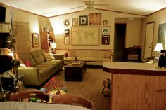 The Mobile Home Maker: Eclectic Single Wide Decor - MMHL