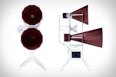 As much speakers as they are works of art, Oma Imperia Speakers look as impressive as they sound. Penned by industrial designer David D'Imperio, they're built by hand in Pennsylvania using your choice of black walnut, cherry, or ash. The...