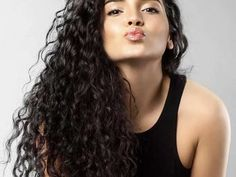 Oblong Face Hairstyles, Permed Hairstyles, Cool Hairstyles, Layered Hairstyles, Celebrity Hairstyles, Dreadlock Hairstyles, Curly Hair Updo, Coily Hair, Curly Hair Styles