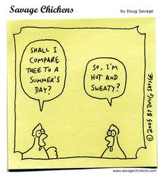 Savage Chickens do Shakespeare