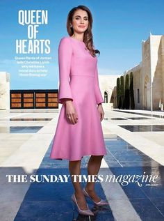 Rania de Jordanie : entretien au Sunday Times - Noblesse & Royautés