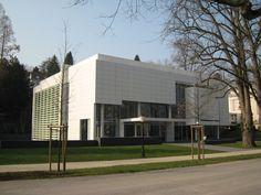 Burda Museum, Baden-Baden; by Richard Meier