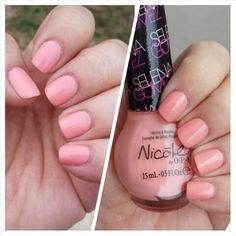 """Selena"" #opi #nailpolish #swatches #nicole #pinknailpolish"