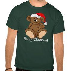 Beary Christmas T Shirt