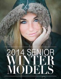 2014 Senior Winter Model Editorial by d-Squared Designs. Senior photography. Girl senior photography. Senior magazine.