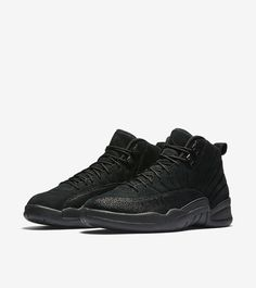 "Air Jordan XII (12) Retro ""OVO"" 'Black-Metallic Gold'    -Release Date:  Saturday, February 18th 2017    -Price: $225"
