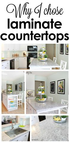 Why I chose laminate kitchen countertops instead of granite.