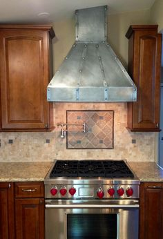 Have hubby do this over range top, if use some around kitchen are. Green Granite Countertops, Stained Concrete Countertops, Cheap Kitchen Countertops, Bathroom Countertops, Granite Kitchen, Buy Kitchen, Kitchen Ideas, Kitchen Vent Hood, Countertop Makeover