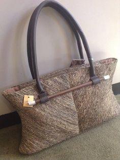 Vetiver Large Brown Handbag
