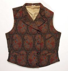 The Met: Costume Institute Mode Masculine, Antique Clothing, Historical Clothing, Victorian Mens Fashion, Men's Waistcoat, Period Outfit, Costume Institute, Fashion History, Fashion Sites