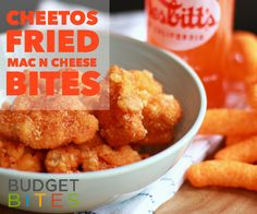 Bring on the cheese! If you're craving Burger King's new Mac n' Cheetos, why not make your own with this yummy Cheetos Fried Mac n' Cheese Bites recipe.