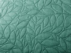 A Few Scraps: Leafy Branches: all over free motion quilting: step by step instructions. Looks doable