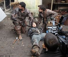 The Musketeers: Filming os series I (2013) via the Daily Mail (Most are repins but who cares? <3)