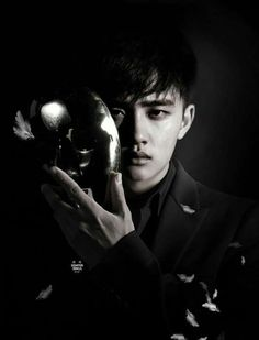 I send my gratitude to the photographer and the stylist and to kyungsoos parents