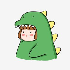 boy avatar, couple avatar, little dinosaur, cartoon, cute Avatar Cartoon, Cartoon Cartoon, Cute Cartoon Drawings, Cartoon Kunst, Cartoon Art Styles, Easy Drawings, Cartoon Dinosaur, Cute Dinosaur, Cartoon Girls