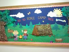 Camping Classroom Decoration : Camping theme bulletin board digital scrapbook layouts by nicole