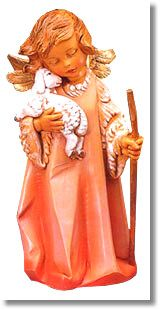 This little Shepherd Angel is so cute...it is one of my favorite pieces!