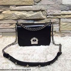 prada arcade bag black