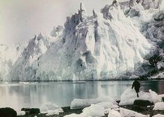 Frank Hurley  New Fortuna Glacier, 1915