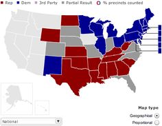 13 best Electoral Maps images on Pinterest | Cards, Maps and ...
