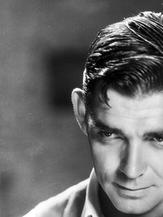 """williamclarkgable: """" """" Some of us, I know, like to tell white lies about our yesterdays. We romanticize our contemporaries—and give them a dimension they don't deserve. But Clark Gable was all man—no..."""