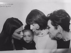 Happy Mother's Day to my mom! I love you dearly!! Thank you for being the most loving grandmother to the kids and great grandmother to Mason Penelope North Reign and Saint. They are so blessed to have you!!! You only have one mother and I am thankful every single day that you are mine.  #mothersday #family #grateful #blessed #fourgenerations #krisjenner #krisisms