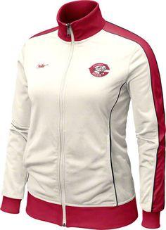 Nike Cincinnati Reds Womens Retro Track Jacket