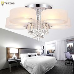 62.30$  Watch here - 2017 Modern Led Ceiling Lights For Living Room luminarias para sala Ceiling Fixtures Bedroom lighting With Remote Control  #SHOPPING
