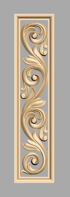 Wood Carving Cnc Ideas For 2019 Wood Carving Designs, Wood Carving Patterns, Wood Carving Art, Wooden Art, Wooden Doors, Motif Arabesque, Wooden Main Door Design, Wood Sculpture, Chinoiserie