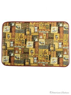 Coffee Kitchen Rugs | New Brown Coffee Decor Kitchen Mat Rug Carpet | EBay