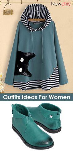 Tenues d& pour femmes. Winter Outfits Women, Casual Winter Outfits, Winter Stil, Fashion Week, Pulls, Fashion Boutique, Autumn Winter Fashion, Couture, Hoodies