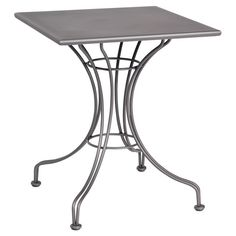 Outdoor Woodard Solid Top Square Bistro Table - 13L4SD24-32
