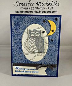 Shop Online for Stampin' Up! 25 WOW Picks from my Pals Stamping Community. Create Christmas Cards, Christmas Cards 2018, Xmas Cards, Holiday Cards, Greeting Cards, Christmas Holiday, Fall Cards, Winter Cards, Stampin Pretty
