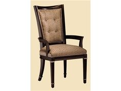 Shop for Marge Carson Samba Arm Chair, SBA46-1 Circle backs for two chairs