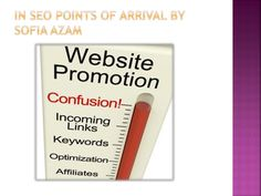 In seo points of arrival by sofia azam