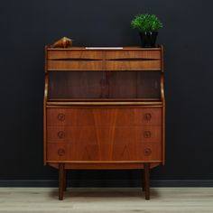Secretaire cabinet from the seventies by unknown designer for unknown producer