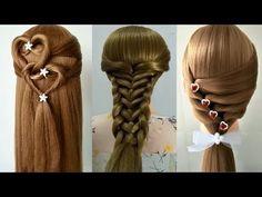3 Back To School Hairstyles 2017/QUICK & EASY BRAIDS/Peinados rápidos y fáciles para las niñas - YouTube