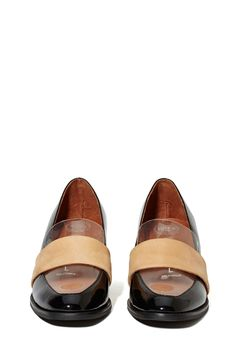 Jeffrey Campbell Irving Loafer - Black | Shop What's New at Nasty Gal