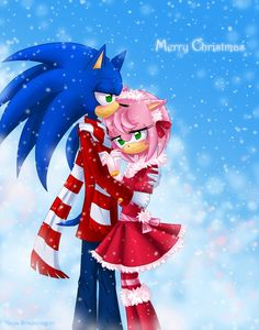 a merry sonamy christmas - sonamy Fan Art