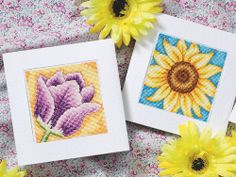 free cross stitch patterns in pdf format with flowers cards
