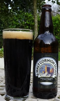 6 Malt Cornish Stout from Marks and Spencer (brewed by St Austell Brewery). A very tasy and smooth stout with ashy undertones. St Austell Brewery, British Beer, I Like Beer, Dark Beer, Wine Cheese, How To Make Beer, Craft Beer, Beer Bottle, Brewing