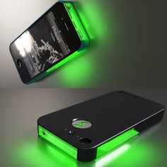 Add a little neon lights to your phone habits. #phone #accessories