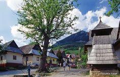 World Heritage Site -- Vlkolínec, Slovakia