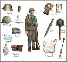 ww1 Austro-ungarian infantryman by AndreaSilva60 on DeviantArt