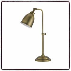 Industrial style for your home office or den. Showcasing an. Adjustable pole height and swivel head lamp. Bowl shade. This factory-chictable lamp brims with. Interior use. Durable metal construction. | eBay!