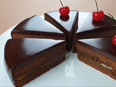 tortesacher01 Pudding, Desserts, Recipes, Chocolate Cakes, Food, Tailgate Desserts, Deserts, Choco Pie, Eten