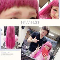 WEBSTA @ min2_liz - 久しぶりにエクステつけたー!!すっごい丁寧で、細かく髪の毛見てくれてとても満足です💓💓💓 んで、その後は前髪カットしに行った!カツラみたいに重たい前髪にしたよ😏💕 #美容師 #アシスタント #札幌 #美容室 #アンククロス #アンククロス札幌 #JIROさん #エクステ #シールエクステ #60本 #brook #ブルック #milcoさん #前髪カット #オン眉 #ラウンドバング #デザインカラー #ピンク #ヘアマニキュア #マニックパニック