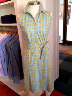What to Wear to Derby & Steeplechase! The perfect pattern!  Dolly Sleeveless Dress: $195. At J.McLaughlin.