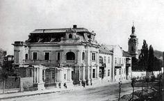 Палац Сапєг. 1870. Необарокова будівля на сучасній вулиці Коперника, 40, збудована у 1867 за проектом Адольфа Куна для Леона Сапєги.