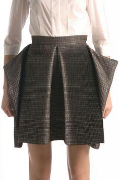 Venette Waste - Waste Couture - Cage Short skirt